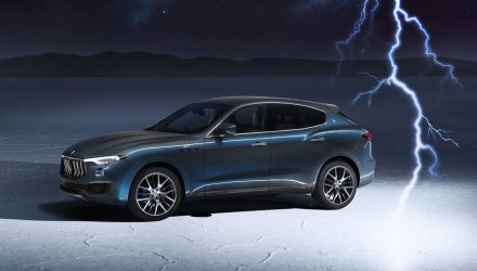 2022 Maserati Levante Hybrid revealed at Shanghai show