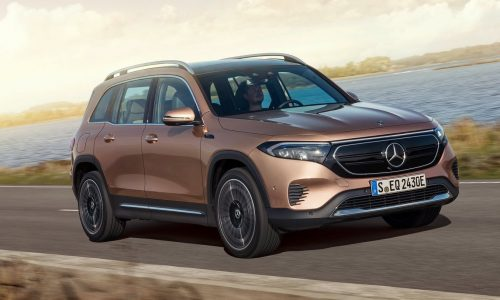 Mercedes-Benz EQB fully electric SUV revealed