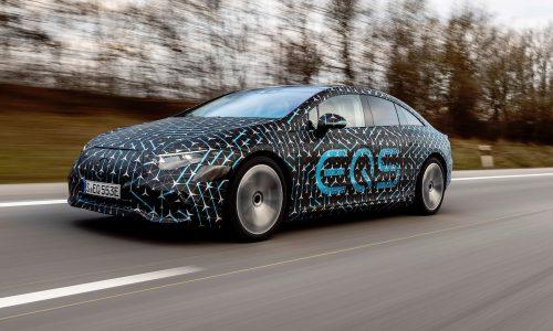 Mercedes-Benz EQS: up to 770km range, world record aerodynamics