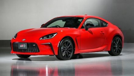 Toyota unveils all-new 2022 GR 86 sports coupe