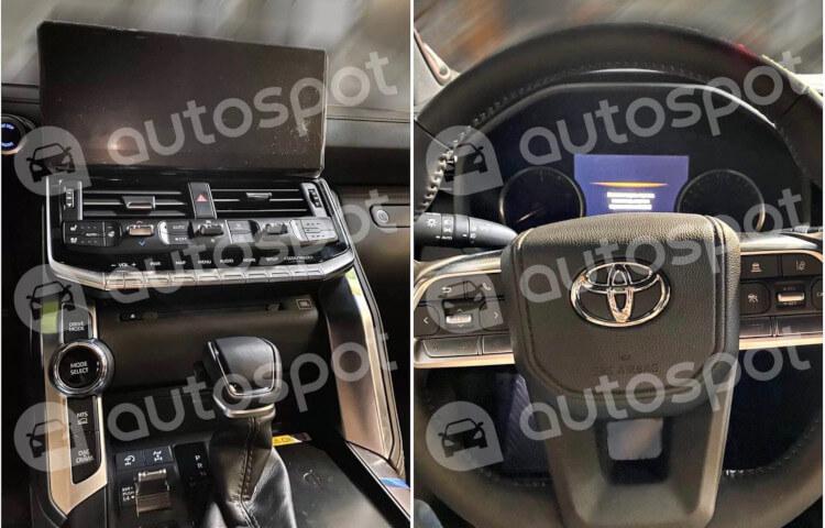 2022 Toyota LandCruiser 300 Series-interior