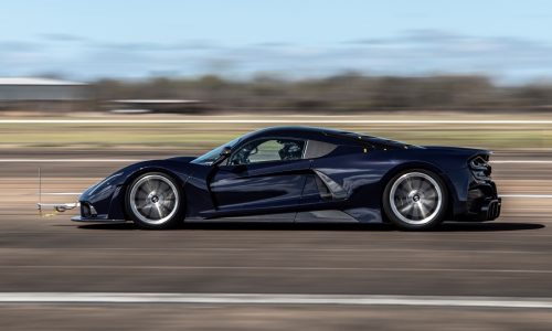 Hennessey Venom F5 completes first round of aero testing