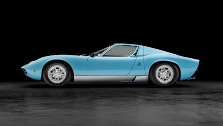 Lamborghini Miura  SV celebrates 50th anniversary
