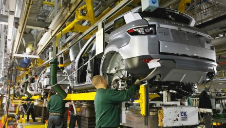Jaguar Land Rover suspends production due to semiconductor shortage