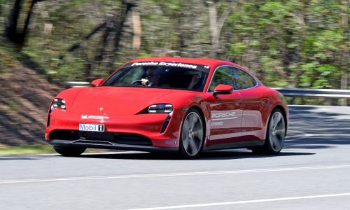Porsche Taycan added to Track Experience events in Australia