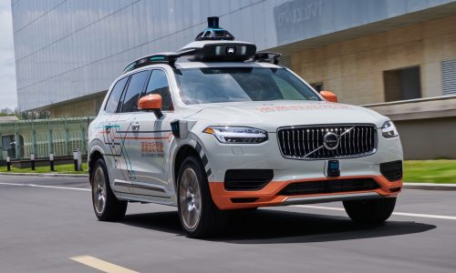 Volvo teams up with DiDi for self-driving taxis