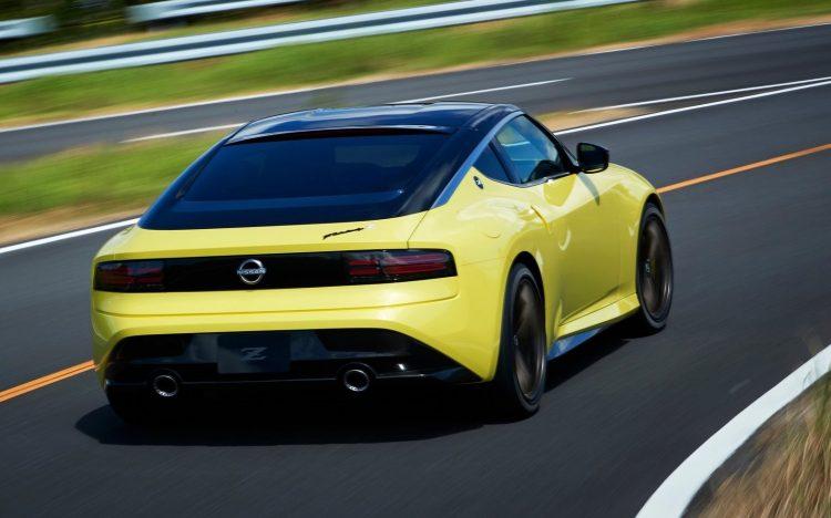 2020 Nissan Z Proto concept-rear