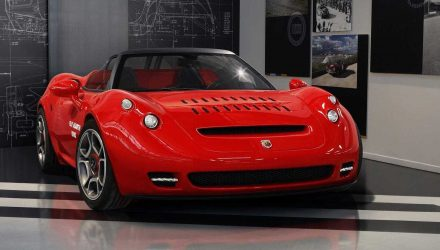 Abarth reveals modern 1000 SP concept, inspired by classic
