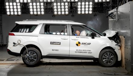 2021 Kia Carnival awarded 5-star ANCAP safety rating (video)