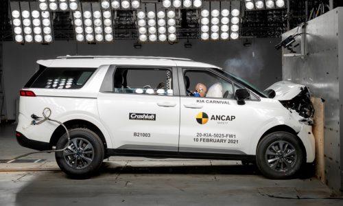 2021 Kia Carnival awarded 5-star ANCAP safety rating (video)