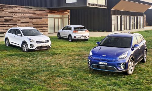 Kia Niro now on sale in Australia: EV, PHEV and hybrid