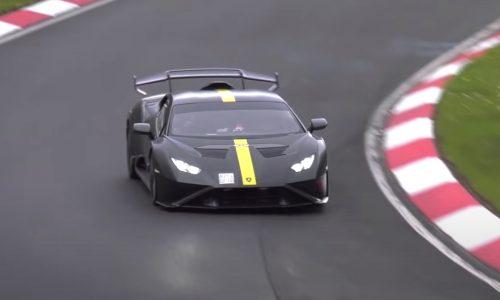 Lamborghini Huracan STO attempting Nurburgring record? (video)