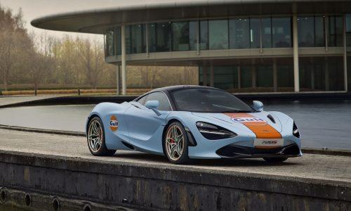 McLaren 720S Gulf by MSO revealed, celebrates renewed partnership
