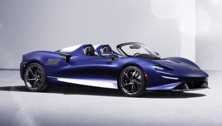 McLaren adds windscreen to Elva roadster, 20kg heavier