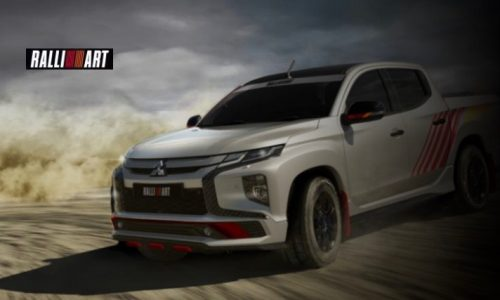 Mitsubishi Triton 'Ralliart' in the works with sub-brand revival