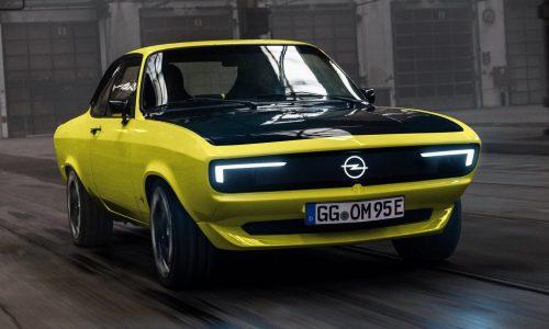 Opel GSe ElektroMOD concept celebrates 50 years of Manta