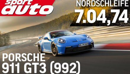 2021 Porsche 911 GT3 '992' laps Nurburgring in 7:04 in Supertest (video)