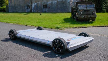 Saietta debuts innovative in-wheel electric motor technology