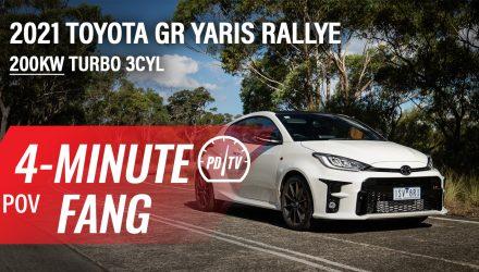 Video: 2021 Toyota GR Yaris Rallye –Four-minute Fang (POV)