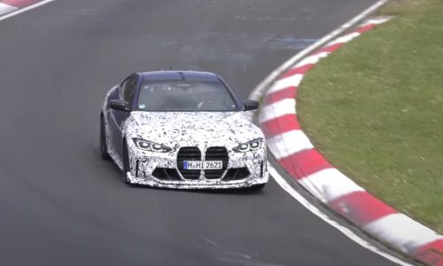 2022 BMW M4 'CSL' prototype spotted, looks insanely fast (video)