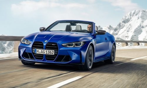 2022 BMW M4 Competition Convertible debuts with xDrive AWD