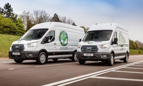 Ford confirms 200kW for upcoming E-Transit van, 350km range