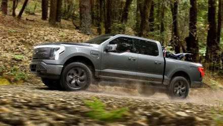 Fully electric 2022 Ford F-150 Lightning revealed