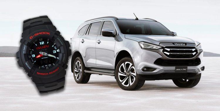 2022 Isuzu MU-X Australian Spec G-Shock Watch