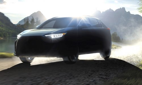 Subaru Solterra confirmed as electric SUV, co-developed with Toyota