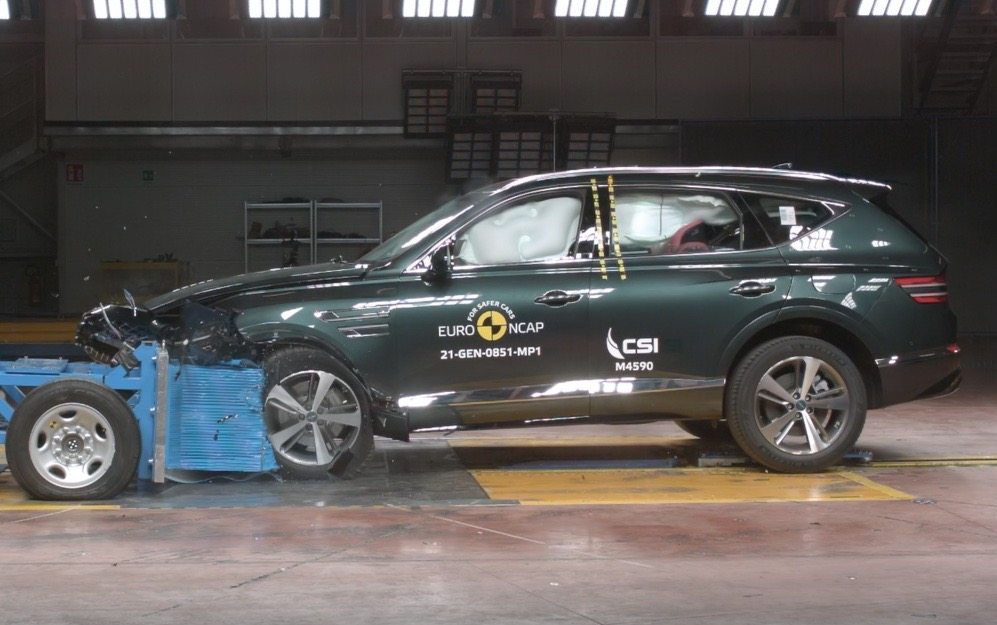 Genesis G80 and GV80 score 5-star ANCAP safety rating