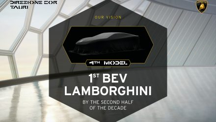 Lamborghini confirms hybrid in 2023, full electric model after 2025