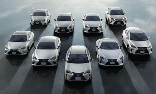 Lexus celebrates 2 million sales of electrified models, EV coming in 2022