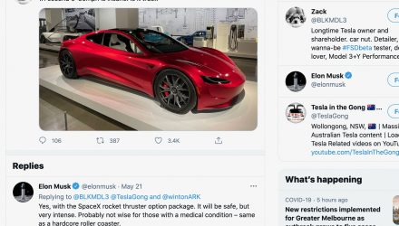 Elon Musk claims new Roadster can do 0-60mph in 1.1 seconds