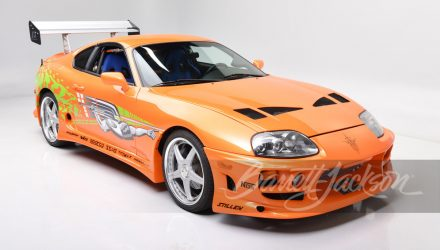 For Sale: Toyota Supra from Fast & Furious movie