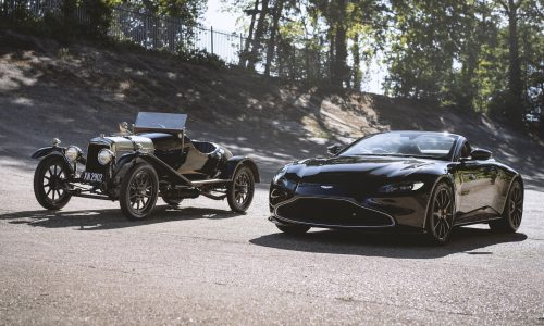 Meet Aston Martin's nod to its oldest car, the Vantage Roadster A3