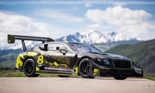 Bentley reveals its Continental GT3 for 2021 Pikes Peak