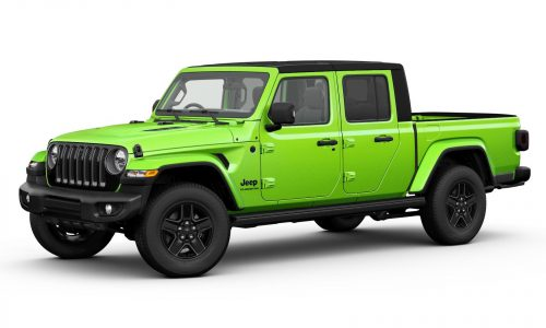2021 Jeep Gladiator update announced, increased payload capacity
