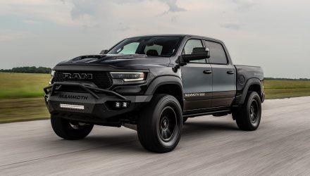 Hennessey unveils Mammoth 1000 TRX pickup (video)