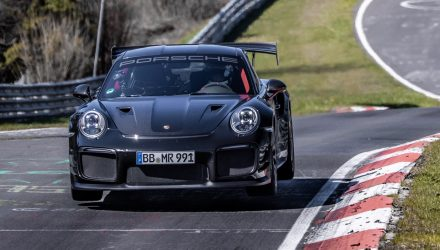 Porsche 911 GT2 RS breaks Nurburgring lap record (video)