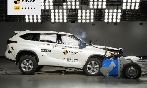 2021 Toyota Kluger scores 5-star ANCAP safety rating (video)