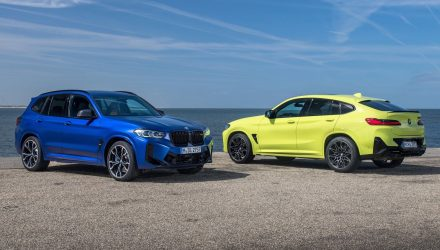 2022 BMW X3 M, X4 M Competition update adds 50Nm for 3.0TT