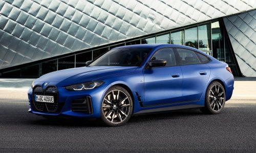 BMW i4 M50 revealed, confirmed for Australia in Q1, 2022