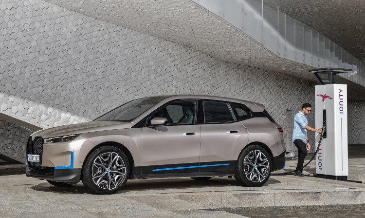 2022 BMW iX Charging