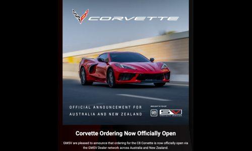 GMSV officially opens order books for 2022 Chevrolet C8 Corvette in Australia