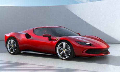 Ferrari 296 GTB revealed; hybrid V6, record specific power