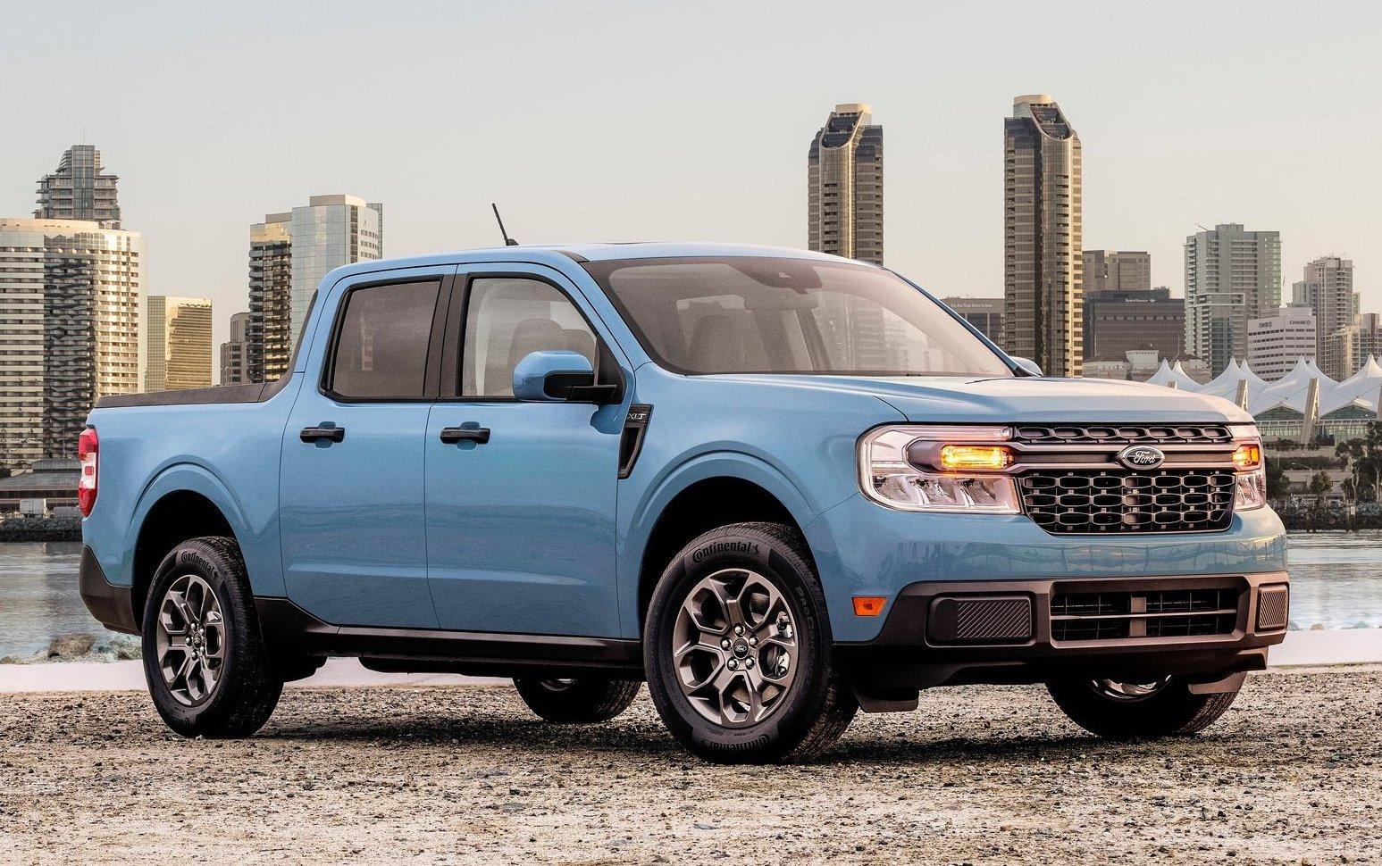 2022 Ford Maverick pickup revealed, not for Australia