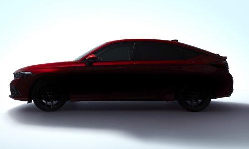 Honda previews next-gen 2022 Civic hatch
