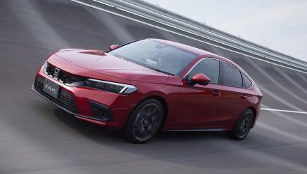 2022 Honda Civic hatch revealed; more powerful 1.5 turbo, hybrid confirmed