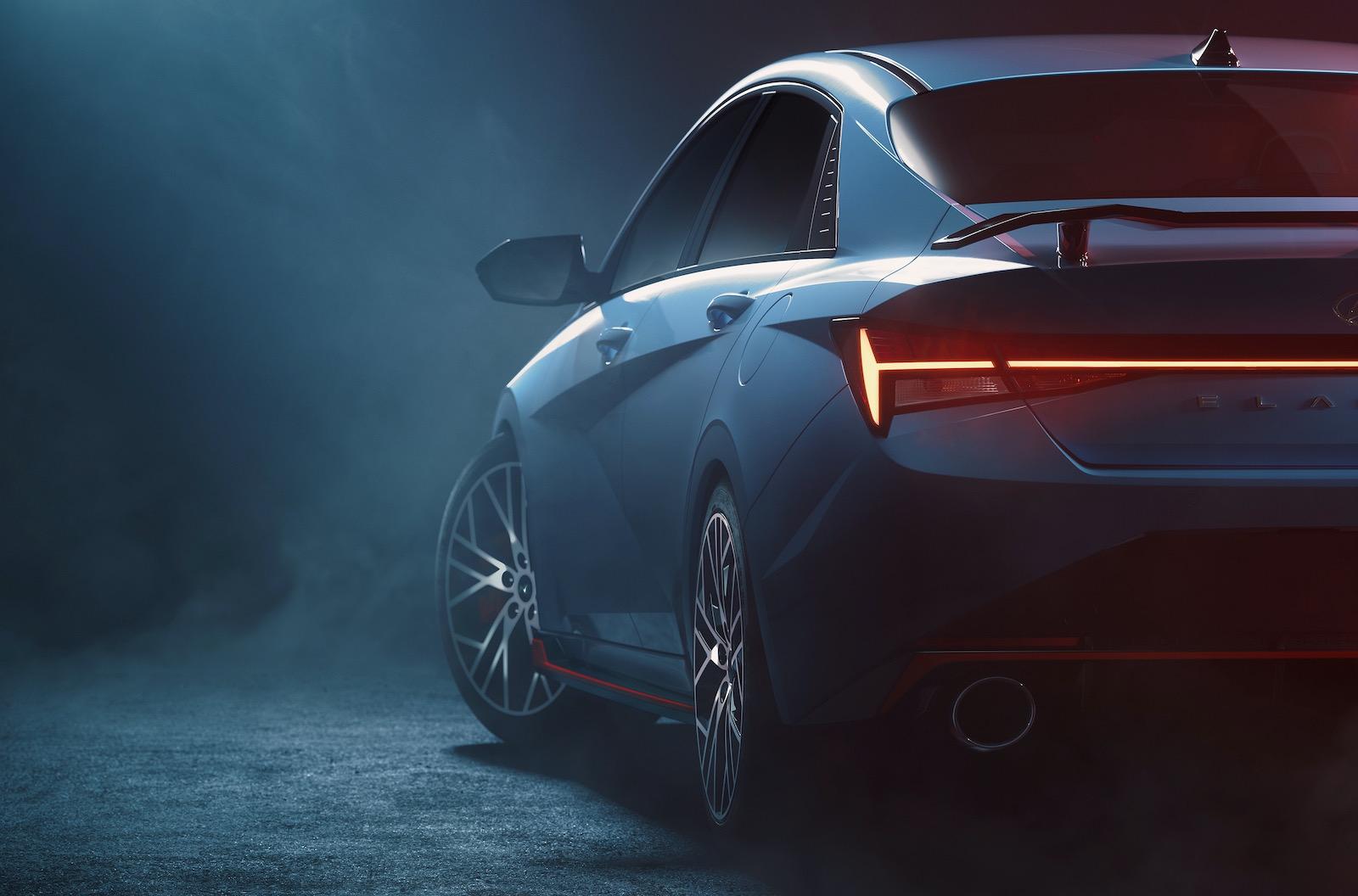2022 Hyundai i30 Sedan N (Elantra N) previewed, spy shot reveals all