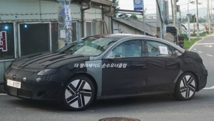 Hyundai IONIQ 6 prototype spotted with production body